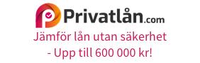 Jämför privatlån upp till 600 000 kr